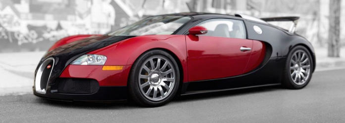 Carros mais rápidos do mundo - Bugatti Veyron
