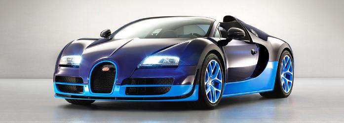 Carros mais rápidos do mundo - Bugatti Veyron Grand Sport Vitesse