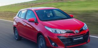 Toyota Yaris é um dos carros que menos desvalorizam após um ano de uso