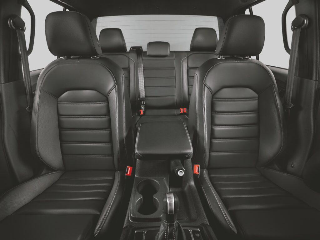 Interior da Volkswagen Amarok 2021