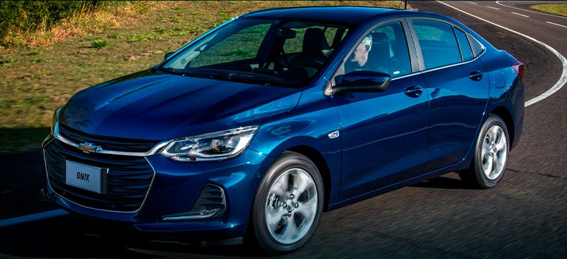 Carros mais vendidos em novembro: Chevrolet Onix Plus