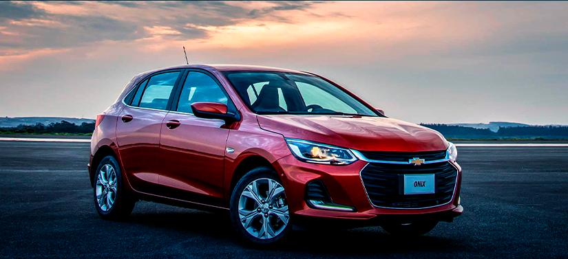 Carros mais vendidos em novembro: Chevrolet Onix