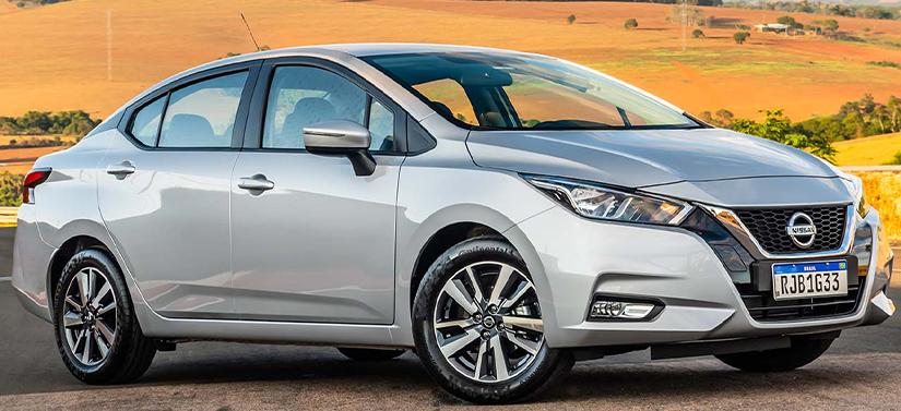 Lançamentos de carros em 2020 - Nissan Versa