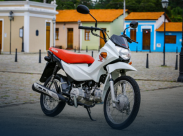 Honda Pop é uma das motos mais econômicas do Brasil