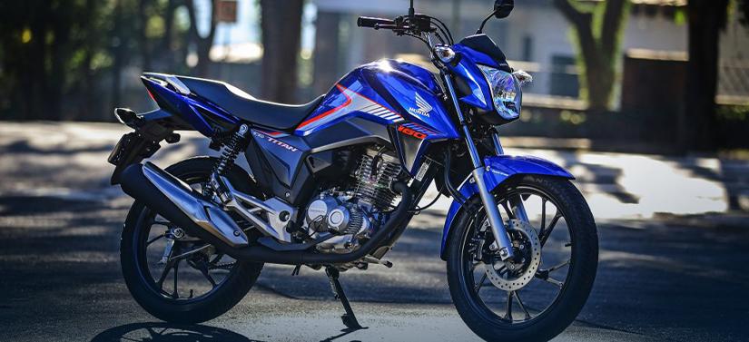 Motos mais econômicas do Brasil - Honda CG