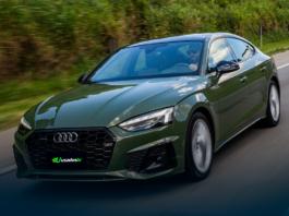 Novo Audi A5 Sportback verde