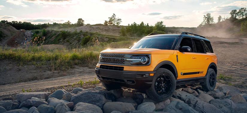 O Ford Bronco será um dos lançamentos da Ford no Brasil em 2021