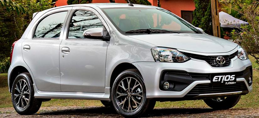 Toyota Etios foi um dos carros que saíram de linha em 2021
