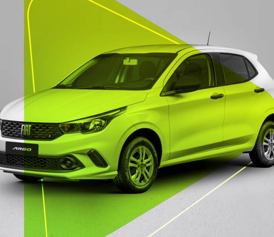 Fiat Argo está em primeiro entre os carros mais vendidos de maio de 2021