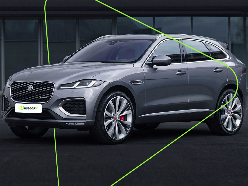 novo Jaguar F-Pace 2021