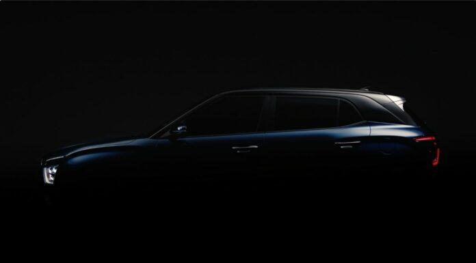 Silhueta do novo Hyundai Creta 2022
