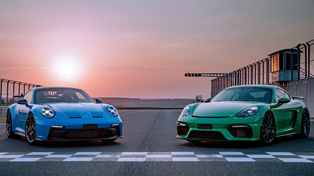 Porsche 911 GT3 e 718 Cayman GT4