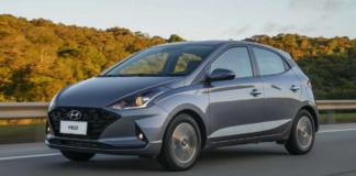 Hyundai HB20 está no topo da lista dos carros mais vendidos em setembro de 2021